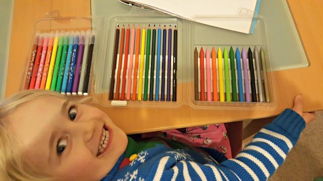 BIC kids colouring set