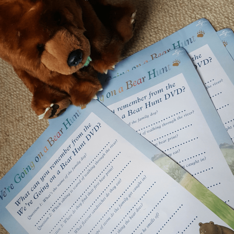 bear hunt party quiz