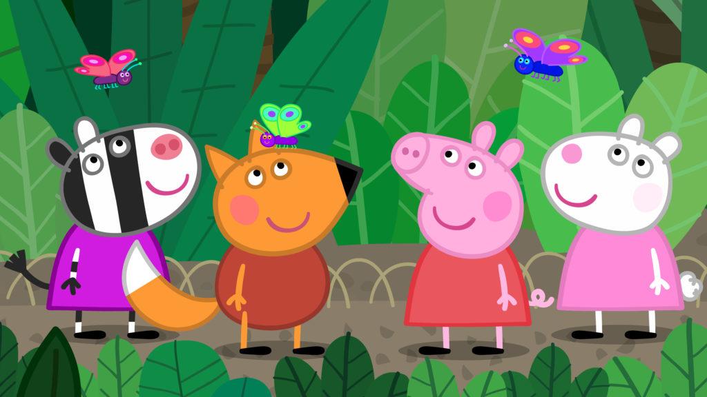 Peppa Pig Movie Zoo
