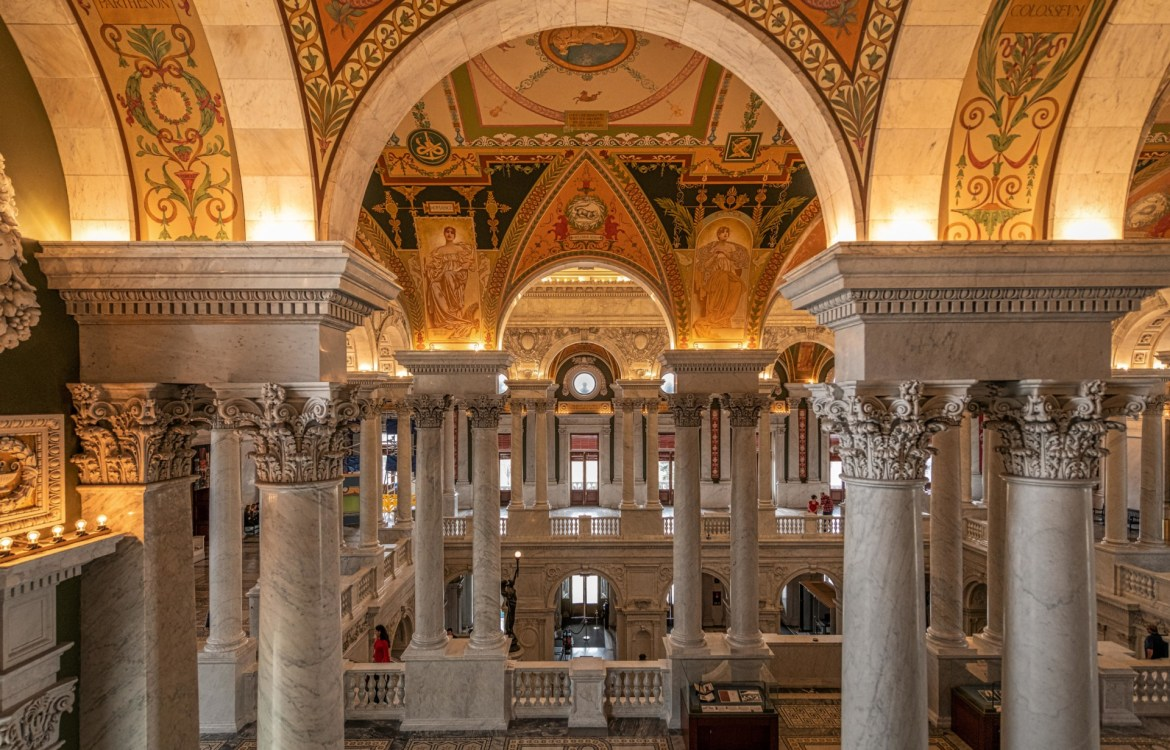 The Great Hall of the Library of Congress