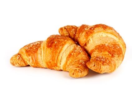 Croissants und Brötchen ohne Gluten