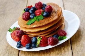 Panqueques para el Desayuno Sin Gluten