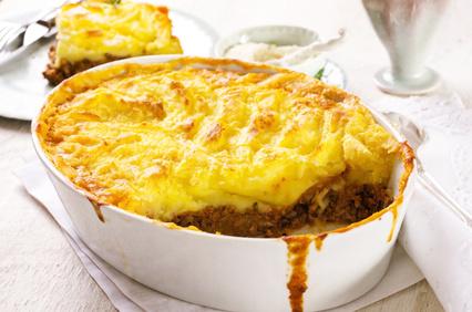 Guarniciones sin gluten: Shepherd's pie