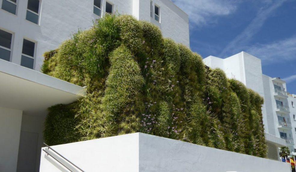 Jardín vertical sistema F+P