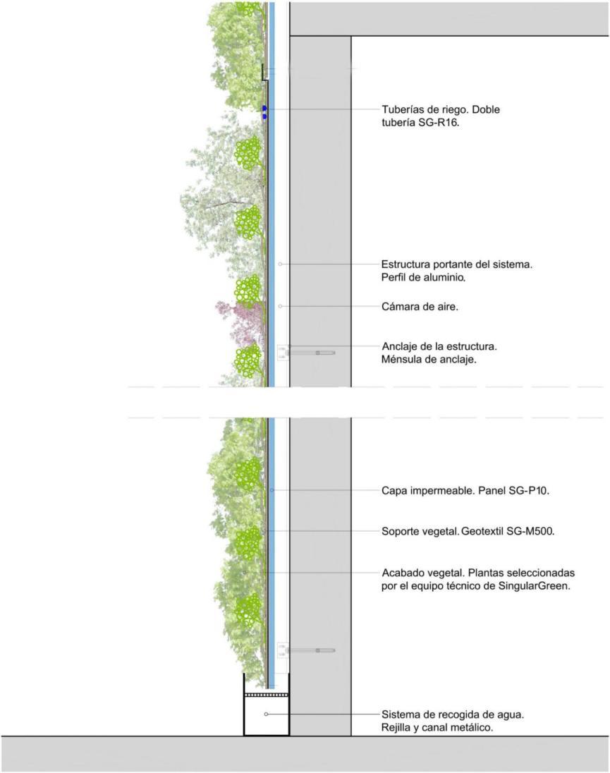 Sistemas de Jardines Verticales - SingularGreen