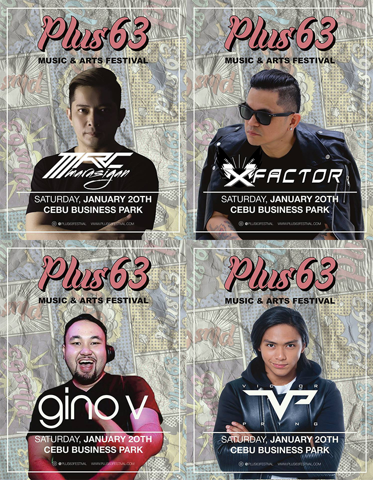 Plus63 Music Festival Sinulog 2018