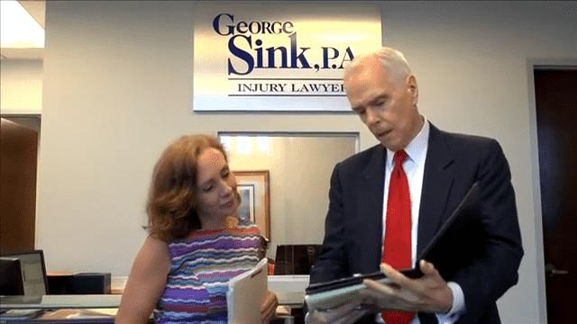 george sink p a injury lawyers