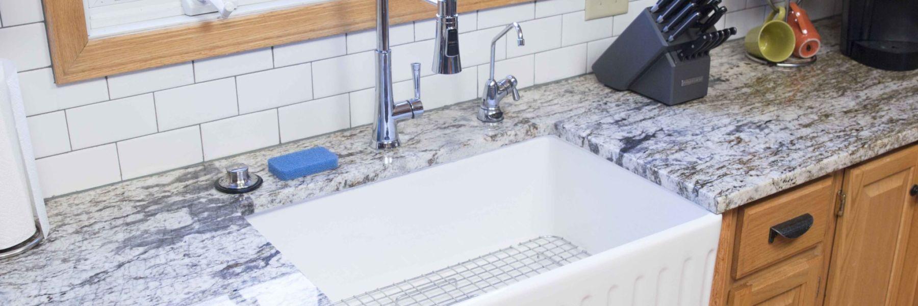 fireclay farmhouse kitchen sink
