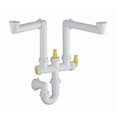 blanco 1 5 double bowl plumbing kit blbfk006 sinks taps com