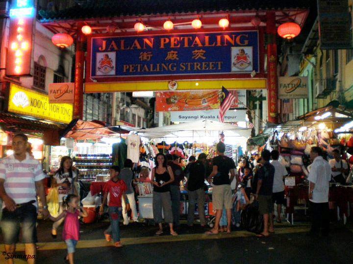 Petaling Street, Barrio chino