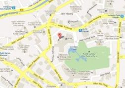 Mapa Petronas