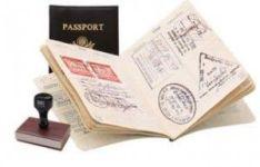 visas y visados en el pasaporte
