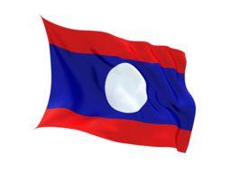 Bandera de Laos - viajar a Laos