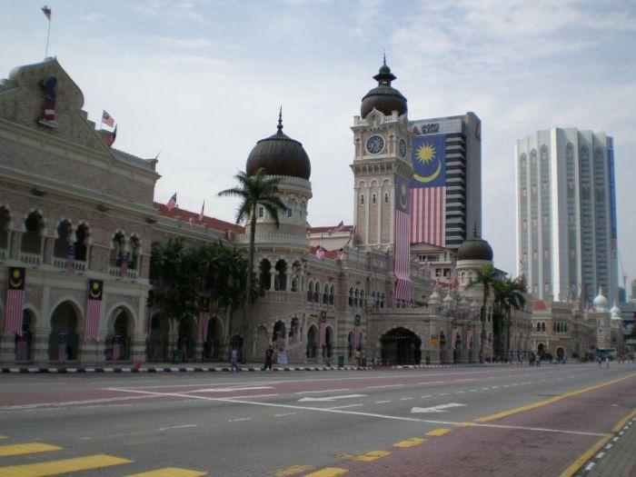 Datran Merdeka (Plaza de la independencia) Kuala Lumpur