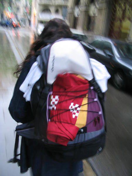 mochila auxiliar