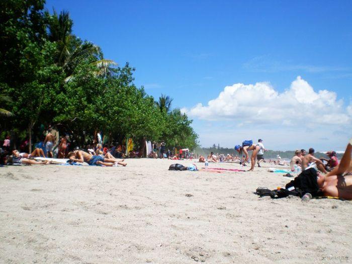 Playa de Kuta en Bali
