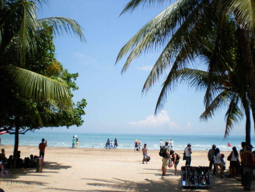Playa de Kuta, Bali, Indonesia - Sinmapa