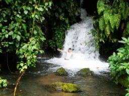 Cascada en Ubud, Bali