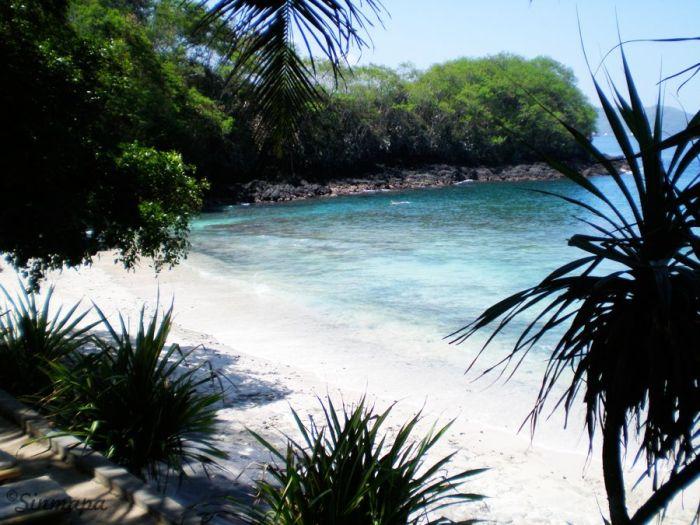 playa Blue Lagoon en Padang Bai. Masaje balinés