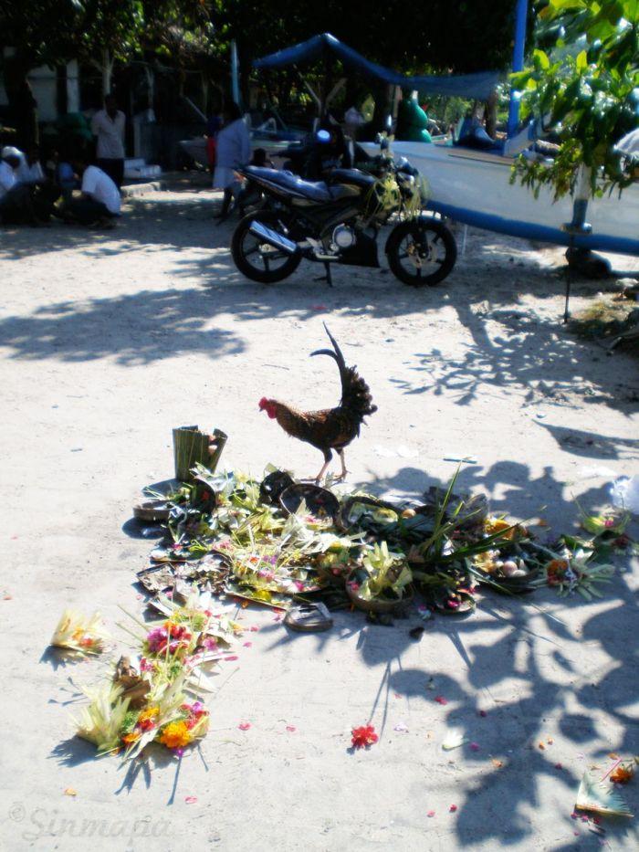 Calles de Padang Bai, Bali, Indonesia