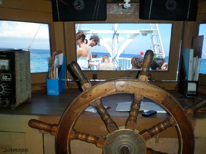 Barco a Gili Trawangan - Indonesia - Islas Gili
