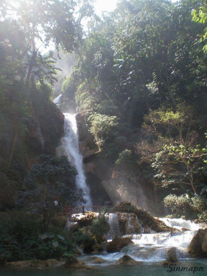 Cataratas en Luang Prabang