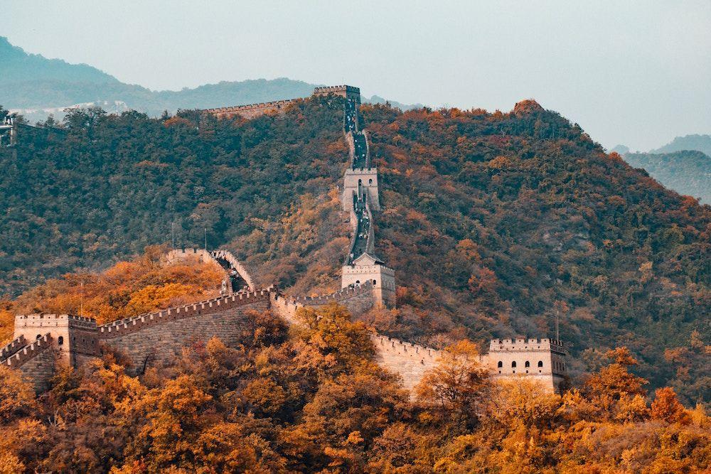 muralla China - viajar a china: qué ver y qué hacer
