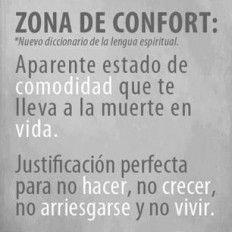 Cita celebre sobre zona de confort