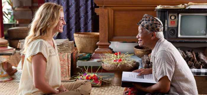 Eat, pray, love un clásico de las películas que inspiran a viajar