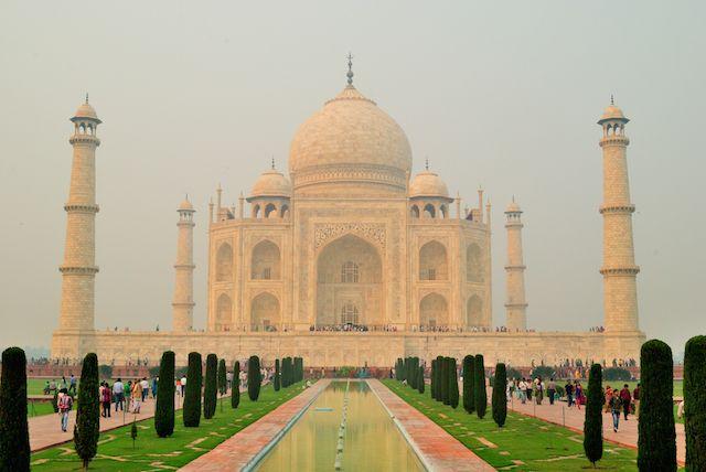 Taj-Mahal tours de Google Street View