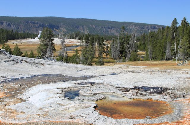 Yellowstone tours de Google Street View