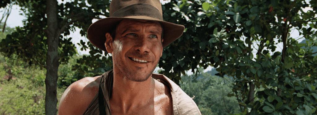 Indiana Jones viajar con el séptimo arte