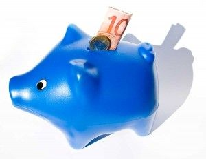 Piggy Bank Blue - consejos para ahorrar dinero