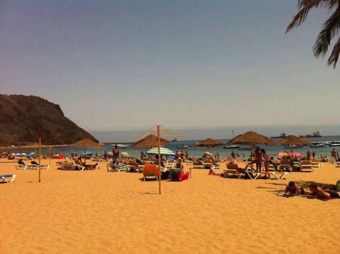 Bonita playa en Tenerife