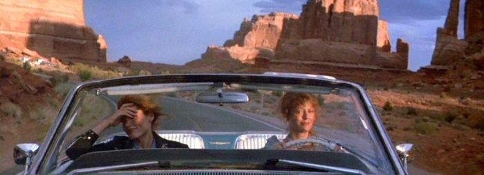 Thelma & Louise viajar con el séptimo arte