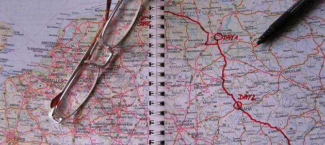 Organizar un largo viaje 2: itinerario
