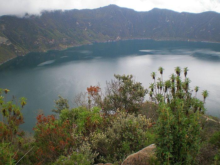 Vistas del lago Quilotoa
