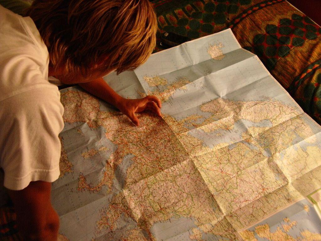 itinerario para un largo viaje