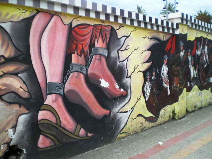 Arte urbano - Street Art - Otavalo