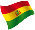 Bandera de Bolivia peque