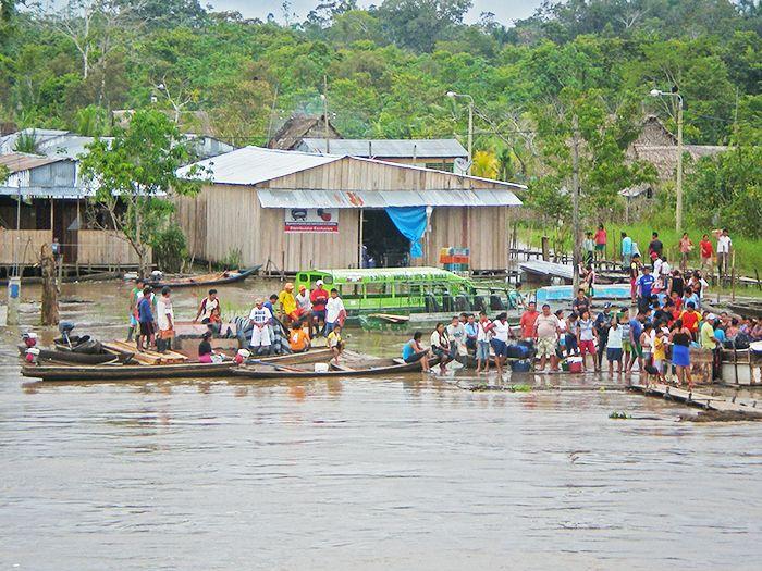 Peru Amazonia Iquitos Yurimaguas