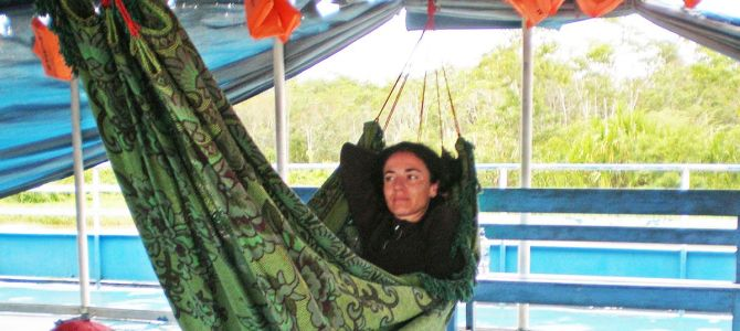 La Amazonía desde mi hamaca
