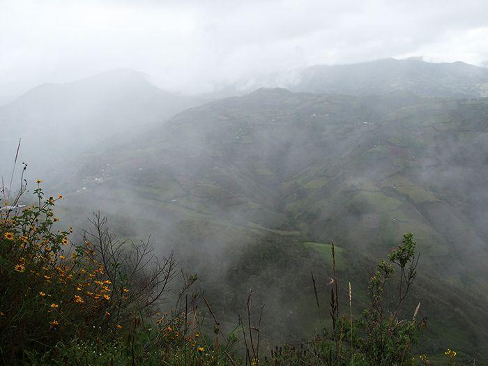Vistas mientras ascendemos a Kuelap