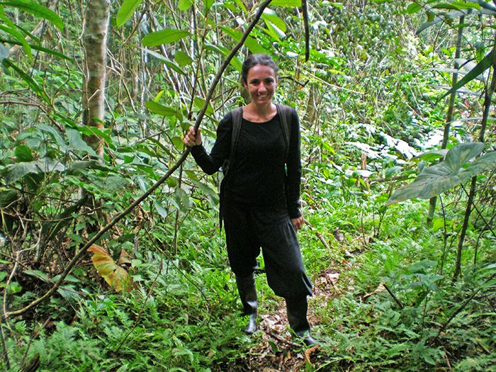 Caminando por la selva