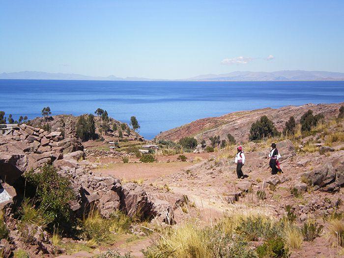Puno Lago Titicaca Peru