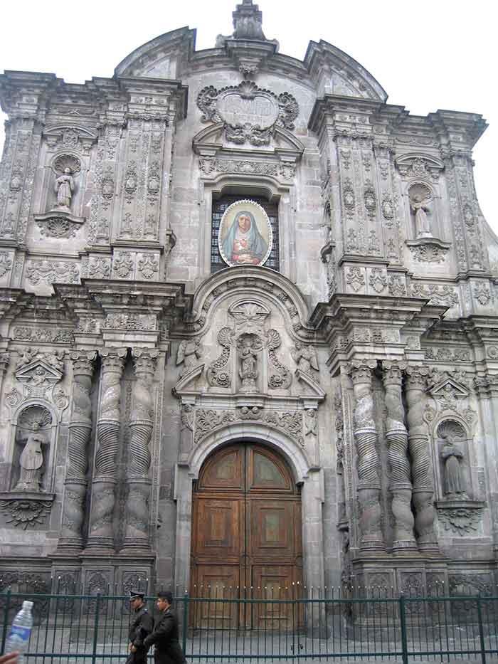 Iglesia de La Compañía de Jesús, Quito