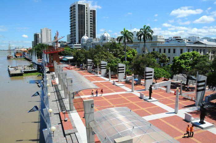 qué ver en Guayaquil Ecuador Malecon2000