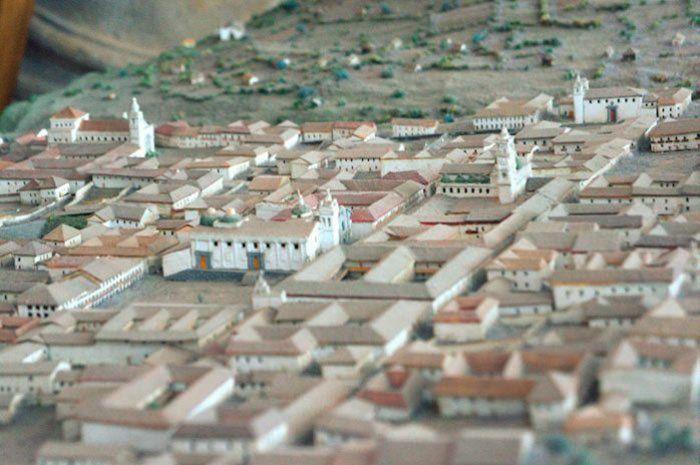 Maqueta de Quito