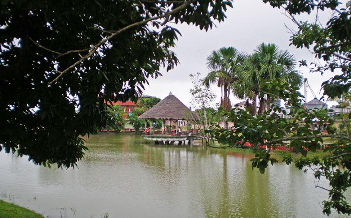 Laguna Sapi-Sapi en Nauta qué ver en Iquitos Amazonas Perú