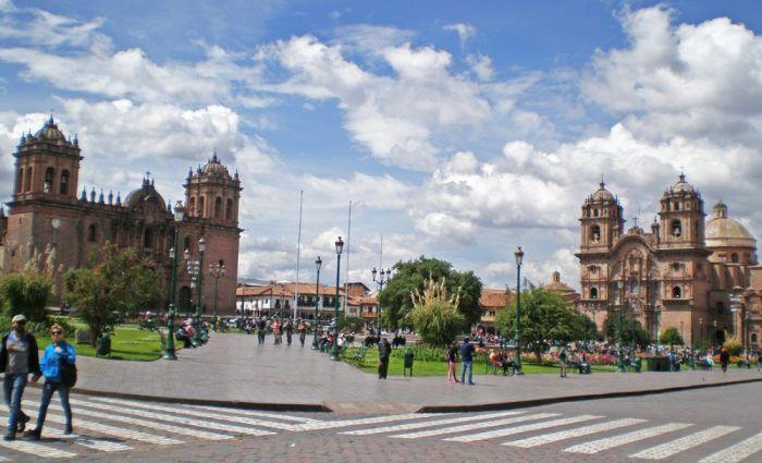 Plaza de Armas en Cusco, Perú